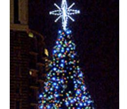 Rileighs Outdoor Decor - Large Panel Christmas Tree