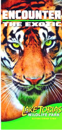 Outdoor Street Poll Banner - Wildlife Park