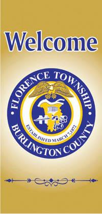Outdoor Street Poll Banner - Township