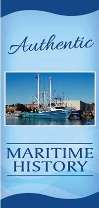 Outdoor Street Poll Banner - Maritime