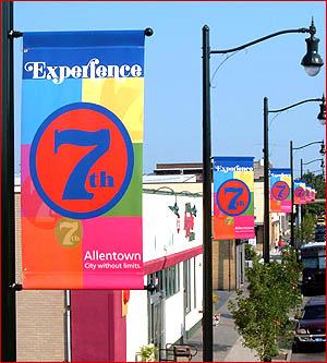 Custom Outdoor Street Pole Banner