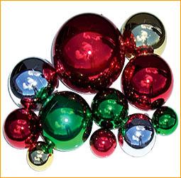 Ornaments Shiny Metallic