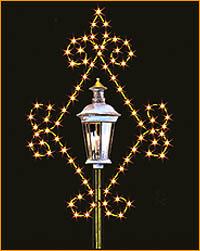Lamppost Snowflake LP900