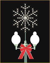 Lamppost Snowflake