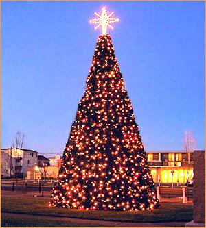 Outdoor Large Panel Christmas Tree
