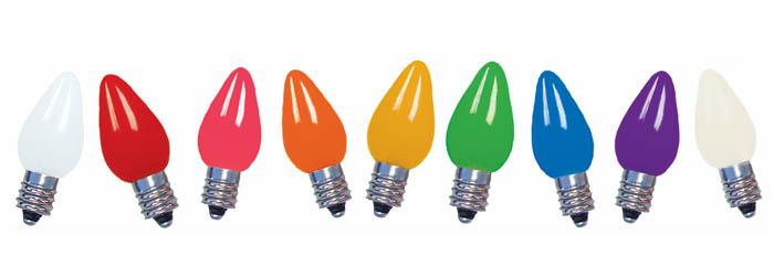 Lighting C9 LED Ceramic Bulbs