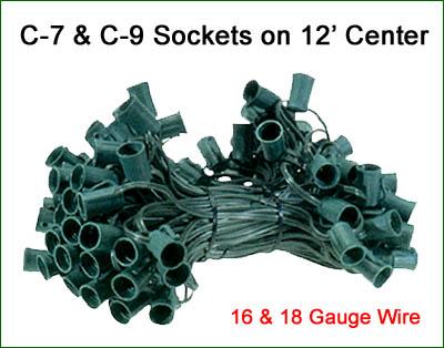 Bulk Spools and Cording Heavy Duty Outdoor Lighting Sockets