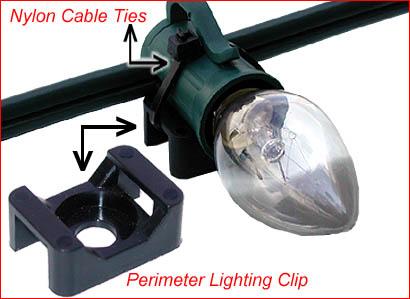 Lighting Hardware Perimeter Lite Clips