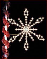 Lamppost Snowflake Diamond