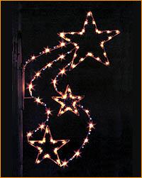 Lamppost Star Spray