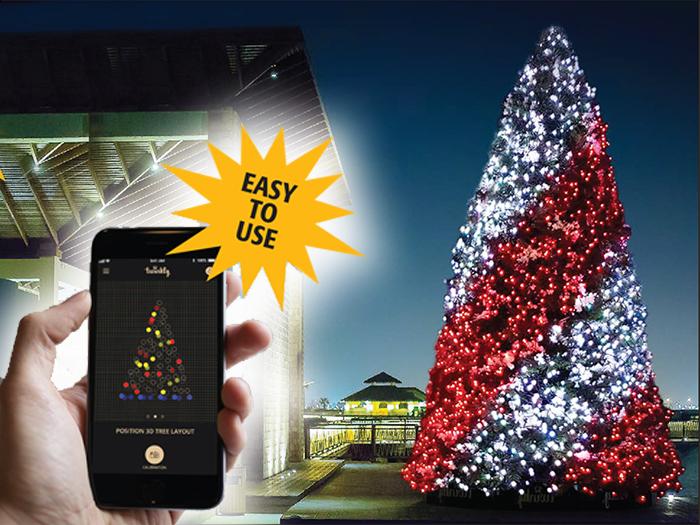 Rileighs Smart Tree Lighting