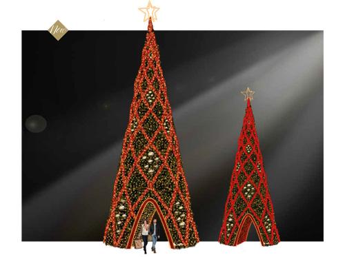 Designer Series - Animated Light Walk-through Christmas Tree
