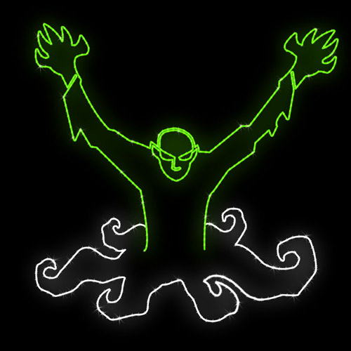 Rileighs Outdoor Decor - Halloween-ground-creeper