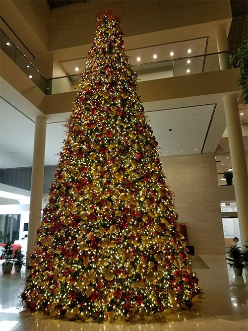 Paramount Christmas Trees - Shopping Mall Lighting