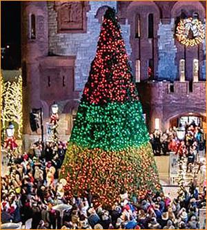 Outdoor Christmas Tree - Smart Lighting
