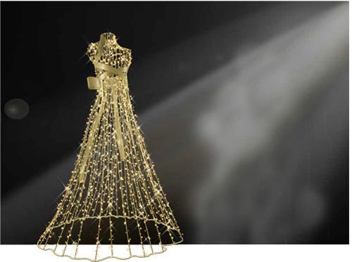 Designer Series - High Fashion - Light Dress