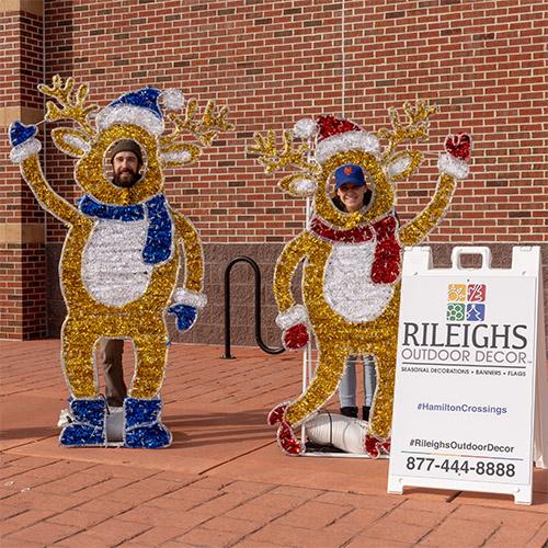 Rileighs Outdoor Decor - Hamilton Crossings - Customer Photo Matt and Kelly