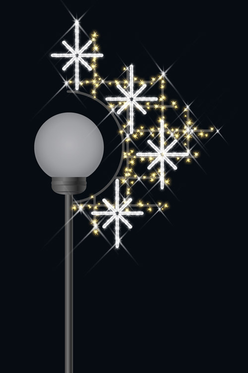 Designer Series - Pole Mount Decorations - Sparkle 2