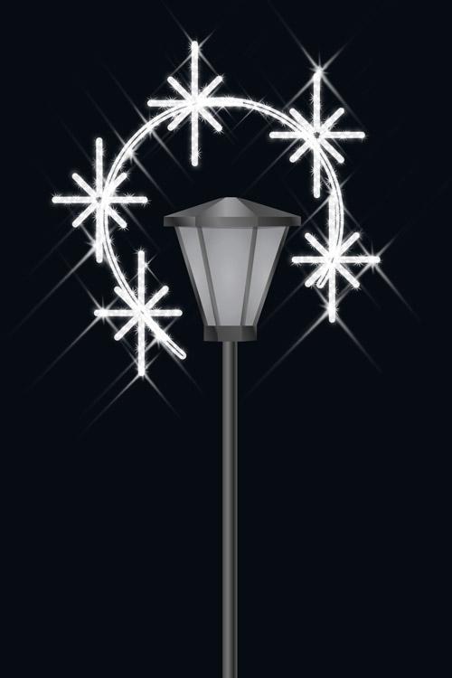 Designer Series - Pole Mount Decorations - Twinkle