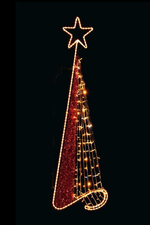 Designer Series - Pole Mount Decorations - Christmas Tree