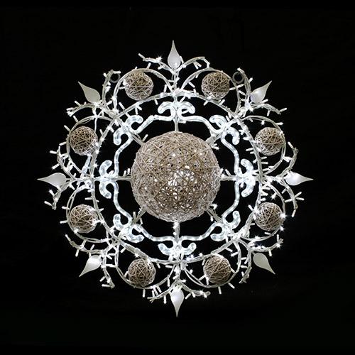 Designer Series - Pole Mount Decorations - Snowflake 2