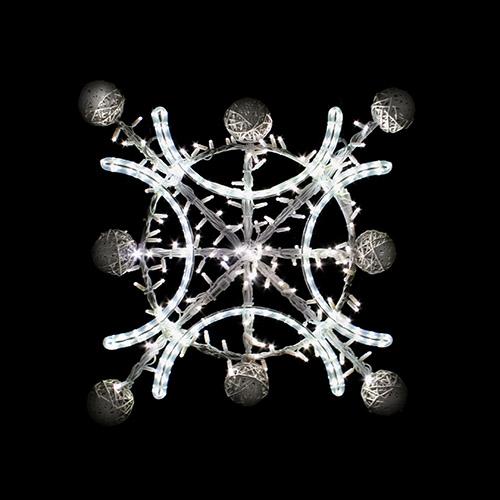 Designer Series - Pole Mount Decorations - Snowflake