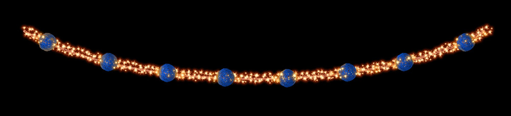 Designer Series - Pole Mount Decorations - Garland