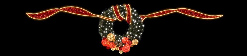 Designer Series - Pole Mount Decorations - Wreathe