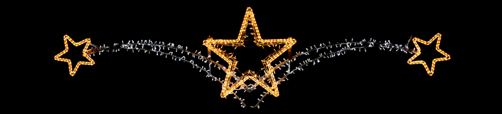 Designer Series - Pole Mount Decorations - Stars