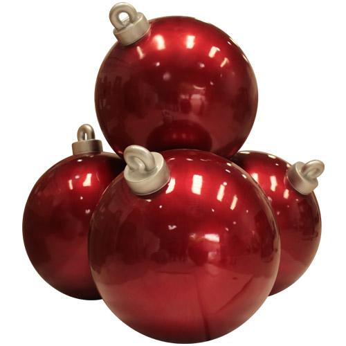 Christmas Decorations - Fiberglass - Stacked Christmas Balls
