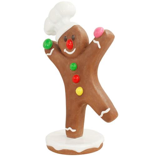 Christmas Decorations - Fiberglass - Gingerbreadman