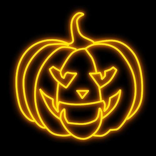 Halloween Lighting Decoration - Evil Pumpkin