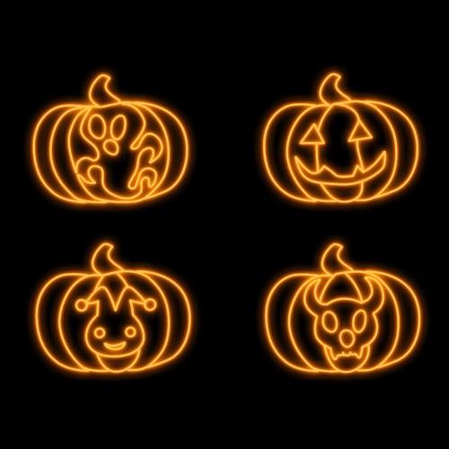 Halloween Lighting Decoration - Custom Pumpkins
