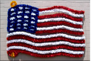 American Garland Flag